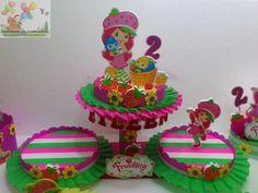 decoraciòn cumpleaños frutillitas - Buscar con Google