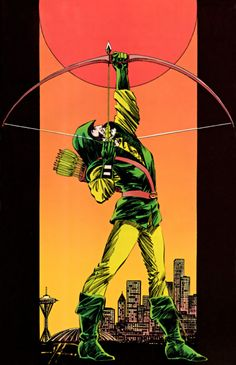 Mike Grell Green Arrow.