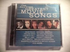 The  All Time Greatest Movie Songs by Various Artists (CD, Epic (USA)) #FolkRock