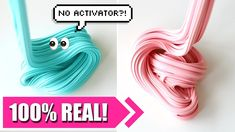 HOW TO MAKE SLIME WITHOUT ACTIVATOR! 2 INGREDIENTS ONLY! NO BORAX