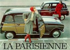 """Renault 4L """"La Parisienne"""" - """"Elle prend le volant"""""""