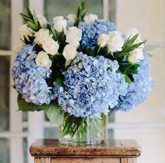 Ideas For Diy Wedding Bouquet Fake Flowers Blue Beautiful Blue Wedding Flowers, Fresh Flowers, Beautiful Flowers, 800 Flowers, Order Flowers, Bouquet Flowers, Wedding Blue, Blue Hydrangea Bouquet, Brown Flowers