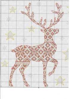 Inspiring concepts that we have a weakness for! Xmas Cross Stitch, Cross Stitch Charts, Cross Stitch Designs, Cross Stitching, Cross Stitch Embroidery, Embroidery Patterns, Cross Stitch Patterns, Cross Stitch Stocking, Cross Stitch Numbers