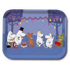 Tray - Moomins Dancing