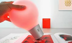 choose your environment with colorup lamp by pega D&E