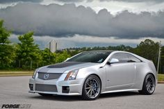 «»	Whiteside Customs' 670 HP CTS-V coupe «»