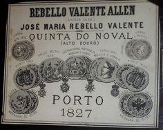 Vinho do Porto , Quinta do Noval , 1827