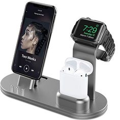 #OLEBR #AirPods, #iPhone and #iWatch #ChargingStand