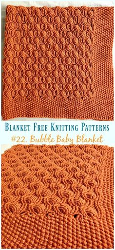 Easy Blanket Free Knitting Patterns To Level Up Your Knitting Skills Bubble Baby Blanket Knitting Gratisanleitung – Einfach Kostenlos Muster Easy Knit Blanket, Blanket Yarn, Knitted Baby Blankets, Chevron Blanket, Baby Blanket Knitting Pattern Free, Free Baby Blanket Patterns, Baby Patterns, Knitting Patterns Free, Free Pattern