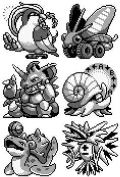 The Most Beautiful Fan Art from Twitch Plays Pokemon