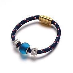 Nylon Cord Beaded Bracelets from Pandahall.com