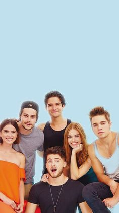 Self-made teen wolf wallpaper for iphone❤️ #teenwolf #wallpaper #background #TeenWolfCast