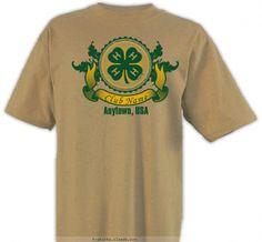 4-H Club Banner Shirt - 4-H Club Design SP2336