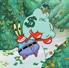 Spongebob Iphone Wallpaper, Simpson Wallpaper Iphone, Cute Disney Wallpaper, Cute Cartoon Wallpapers, Spongebob Drawings, Mr Krabs, Cute Canvas Paintings, Cartoon Painting, Cartoon Profile Pics
