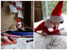 elf on the shelf beau jangles : elf photographer: day 8
