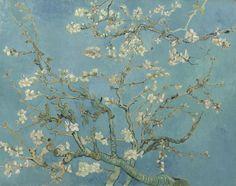 Van Gogh Museum, Wassily Kandinsky, Flores Van Gogh, Stretched Canvas Prints, Framed Art Prints, Framed Wall, Van Gogh Arte, Van Gogh Pinturas, Van Gogh Almond Blossom