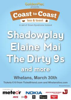 Coast to Coast: Tea and Toast (Fundraiser for Down Syndrome Ireland) - WorldIrish Down Syndrome, Gossip, Fundraising, Ireland, Irish, Funny Stuff, Literature, Toast, Entertaining