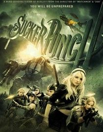 Sucker Punch - steampunk/dieselpunk  The preview was epic but the film didn't deliver on story.  Very disappointing.  Lacks suspense.  Looks awesome though but sadly that's not enough to make it good.