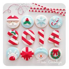 Yılbaşına özel kurabiye ve cupcake setlerimiz | Mia Atölye