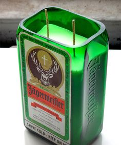 Look what I found on #zulily! Jaegermeister Candle by Rehabulous #zulilyfinds