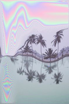 """drops-of-devotion: """"Glitch photography in pastel hues. Glitch Art, Glitch Kunst, Psychedelic Art, Vaporwave, Good Vibe, Trippy, Kitsch, Iphone Wallpaper, Cat Wallpaper"""