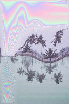 "drops-of-devotion: ""Glitch photography in pastel hues. Glitch Art, Glitch Kunst, Psychedelic Art, Vaporwave, Good Vibe, Trippy, Kitsch, Bunt, Illusions"