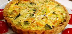 Quiche light de legumes | Receitas Edu Guedes - Site Oficial