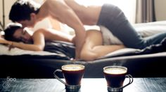 It was a long night...how lovely that you made coffee and softly kissed me awake..
