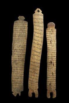Tablas coránicas somalíes sobre hueso