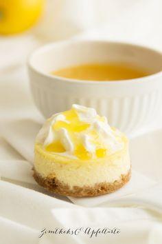 Schnell gebacken: Zitronen-Cheesecake mit Lemon-Curd