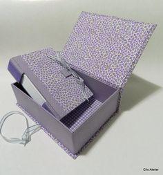 Álbum com box