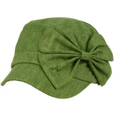 Cool Summer Big Ribbon Bow Military GI Castro Cadet Cabbie Elasitc Cap Hat Olive SK Hat shop, http://www.amazon.com/dp/B007BAT986/ref=cm_sw_r_pi_dp_4C8Tqb1T55D16