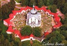 Pilgrimage Church of St John of Nepomuk, Zelena Hora, Czech Republic