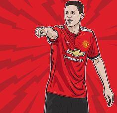 Man Utd Fc, Manchester United Football, The Unit, Illustration, Sports, Hs Sports, Manchester United Soccer, Illustrations, Sport