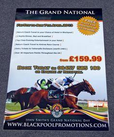 Single sided colour leaflets - order them online here http://www.spotonprintshop.co.uk/leaflets/cat_45.html