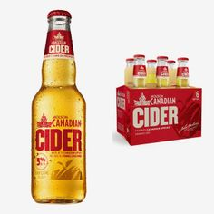 Molson Canadian Cider on Packaging of the World - Creative Package Design Gallery