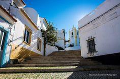 Portuguese street | Flickr - Photo Sharing! Ferragudo, Algarve, Portugal