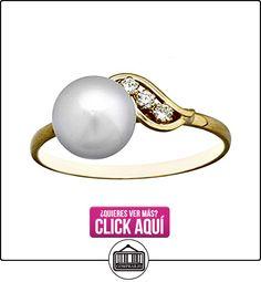 Sortija oro 18k perla botón 6.5mm. primera comunión [AA6731]  ✿ Joyas para niñas - Regalos ✿ ▬► Ver oferta: https://comprar.io/goto/B06XNTJ3H7