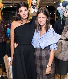 Guests cocktail Giovanna Battaglia in TSUM