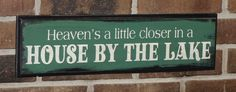 Heaven's a little closer in a HOUSE by the by TheGingerbreadShoppe, $22.95