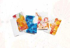 Kit Cartões Comemorativos Crer Para Ver - com 04 cartões e 04 envelopes