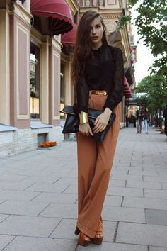 How to Rock The High-Waisted Pants | Fashion Style Mag | Page 21