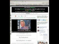 Day Trading for a Living - Day Trading Stocks NEW School - John McLaughlin, Day Trading Coach