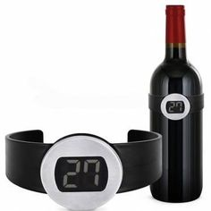 LCD Clip-on Red Wine Digital Thermometer Red Wine Electronic Temperature Indicator Macedonia, Montenegro, Sierra Leone, Restaurant Bar, Belize, Barbados, Puerto Rico, Costa Rica, Different Types Of Wine