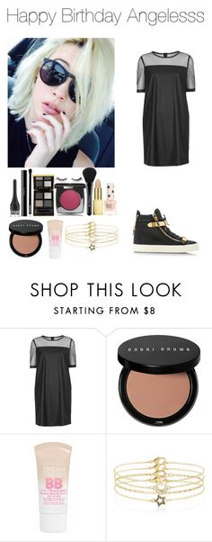 """""""Happy BDay"""" by rosemie ❤ liked on Polyvore featuring мода, BEA, Topshop, Bobbi Brown Cosmetics, Maybelline, Accessorize, Giuseppe Zanotti, birthday, BestFriends и beamiller"""