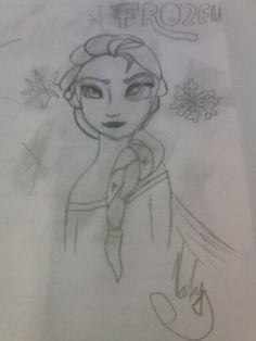 Elsa-Frozen moje tvorba.