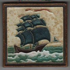 Jugendstil Fliese Kachel Art Nouveau Tile PORCELEYNE FLES 3