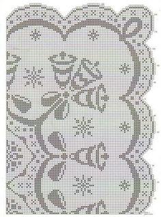 diseño de mantel de navidad