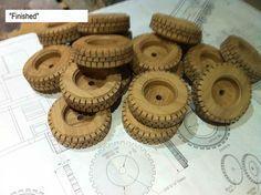 Wooden toys wheel making #4: Tire - by Dutchy @ LumberJocks.com ~ woodworking community