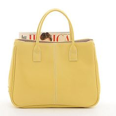 Lady's Solid Color Tote-yellow lightinthebox.com